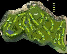 Golfanlage Ullersdorf Lochkarte